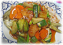 Thai Food Recipe |  Sweet and Sour Fish