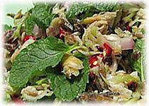 สูตรอาหารไทย : ยำปลาทู